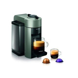 Nespresso GCC1-US-GR-NE Grey VertuoLine Evoluo Coffee and Espresso Maker