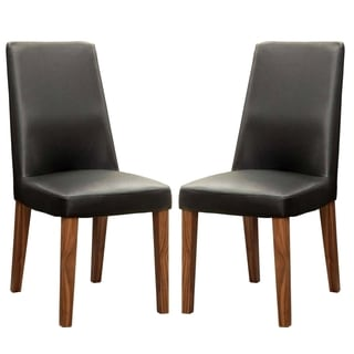 Soho Mid Century Modern Upholstered Dining Chairs Set Of 2 17837299 Ove