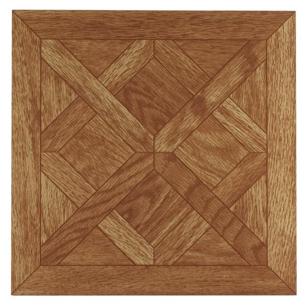Tivoli Classic Parquet Oak 12 x 12 Self Adhesive Vinyl Floor Tile #201