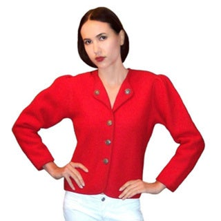 Dolores Piscotta Bavarian Boiled Wool Jacket