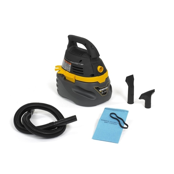 WORKSHOP WS0250VA 1.75 Peak HP, 2.5 gal. Compact Portable Wet/Dry Vac 16593591