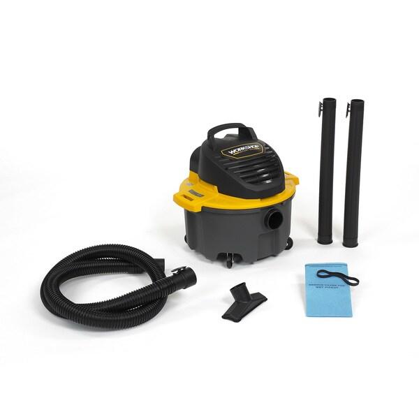 Workshop WS0500VA General Purpose 5-gallon Wet/Dry Shop Vacuum