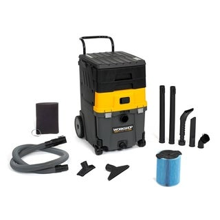 WORKSHOP Wet Dry Vac WS1100CA Wet/ Dry 6.5 Peak HP, 11 gal. Mobile Vacuum Cleaner Station for Home and Auto