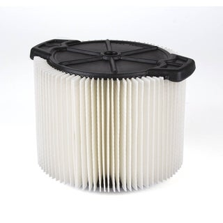 Workshop Wet Dry Vacs WS11045F Standard Filter for Wet Dry Shop Vacuum, 3 to 4.5-gallon