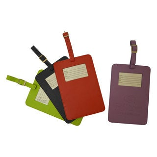 Dacasso Colors Travelers Envy Luggage Tag - Midnight Black