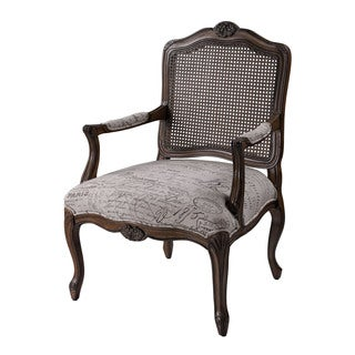 Tulamore jewel scroll arm chair 13832618 for Abbyson living soho cream fabric chaise