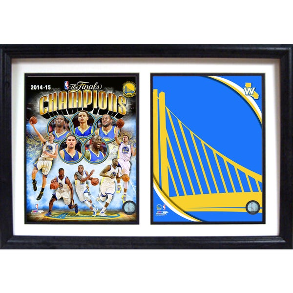 2015 NBA Champions Golden St. Warriors Logo