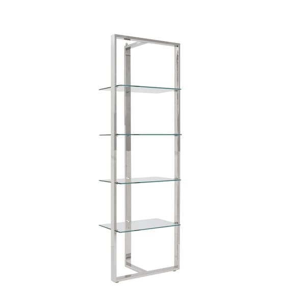 Sienna Clear Glass Panel Shelving