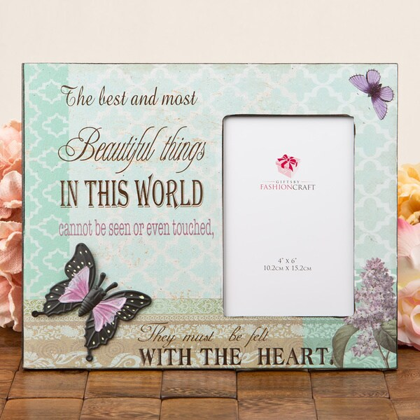 Beautiful Things' Butterfly Frame Gift by Fashioncraft 16593738