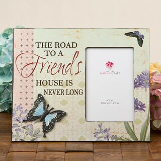 Road to a Friends House Butterfly Frame by Fashioncraft