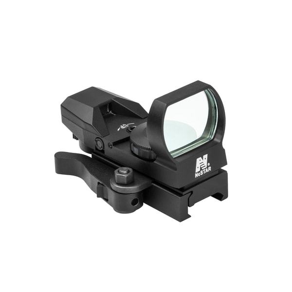 NcStar Blue Reflex Sight/4 Reticles/QR Mount/Black