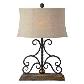 Houston Table Lamp 1 Piece Set