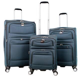 Gabbiano Monaco 3-piece Expandable Softside Spinner Luggage Set