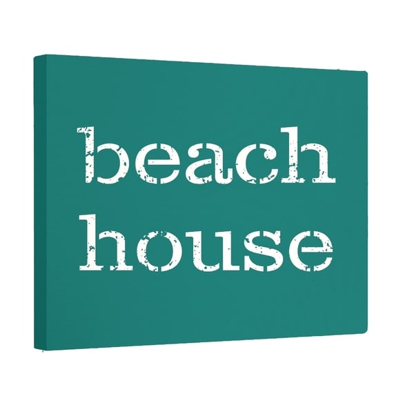 Beach House Word Wall Art