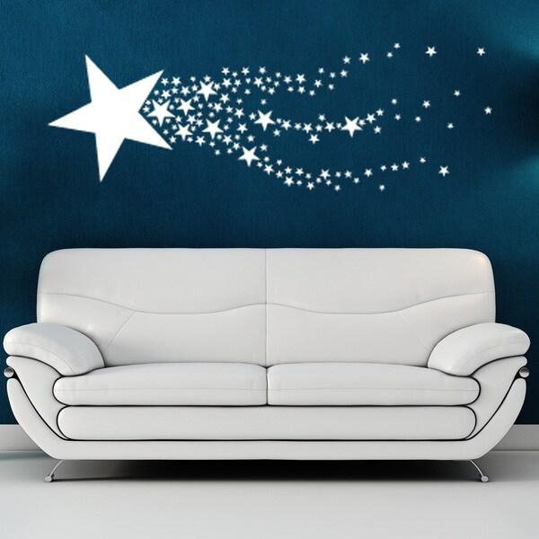 Shooting Star Vinyl Wall Art
