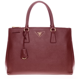 Prada Saffiano Lux Executive Tote Bag