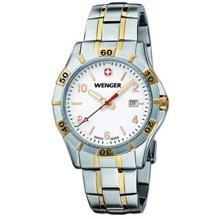 Wenger Mens 0941.105 Platoon Stainless Steel Watch