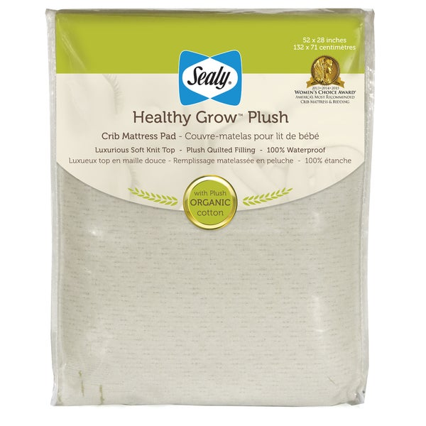 Sealy Healthy Grow Crib Mattress Pad