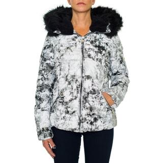 Betsey Johnson Short Puffer Zip Coat