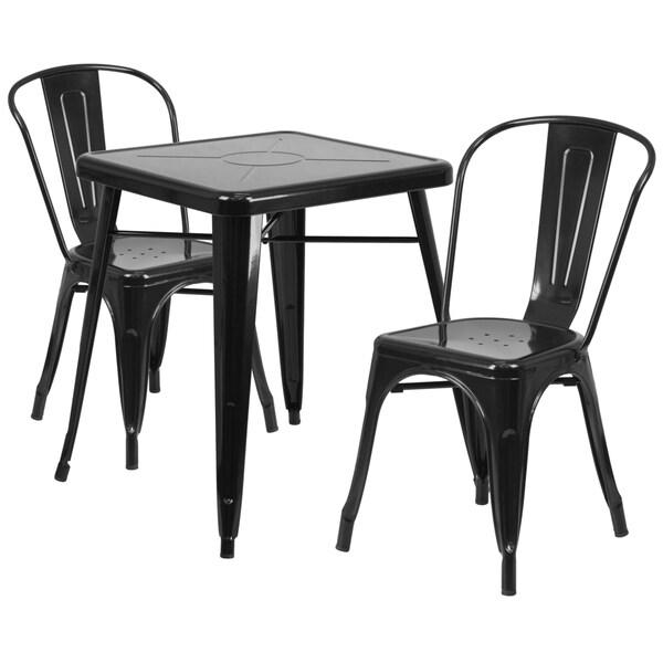 29-inch Metal Table Set