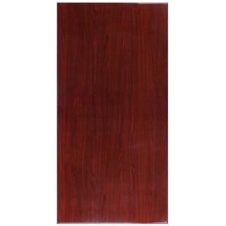 30-foot x 60-foot Rectangular Resin Mahogany Table Top