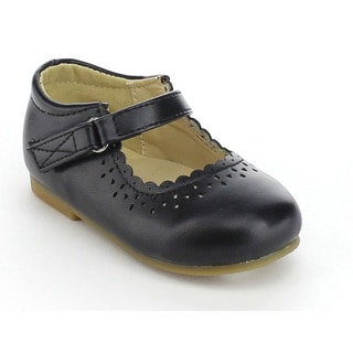 VIA PINKY DELLA-06B Children Girl Ankle Strap Slip On Flat Loafers