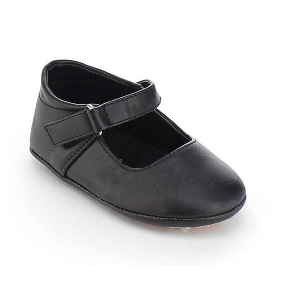 Via Pinky Girl's Cici-04B Ankle Strap Slip On Flat Loafer Shoes