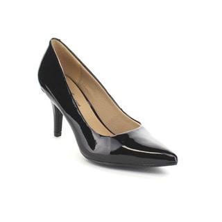 Forever Few29 Women's Basic Pointed Toe Slip On Work Pumps
