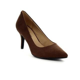 Forever Women's Basic Pointed Toe Slip-On Pumps