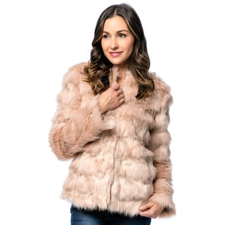 Live A Little Women's Faux Fur Jacket