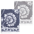 Authentic Hotel and Spa Anna Turkish Cotton Jacquard Bath Towel (Set of 2)