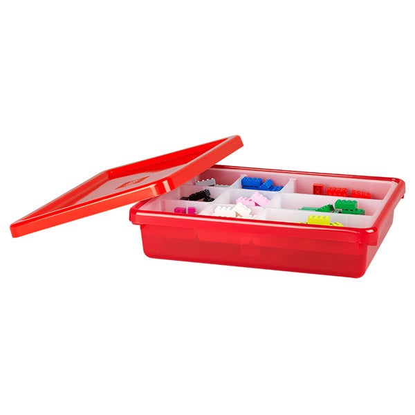 LEGO Red Small Storage Box with Lid