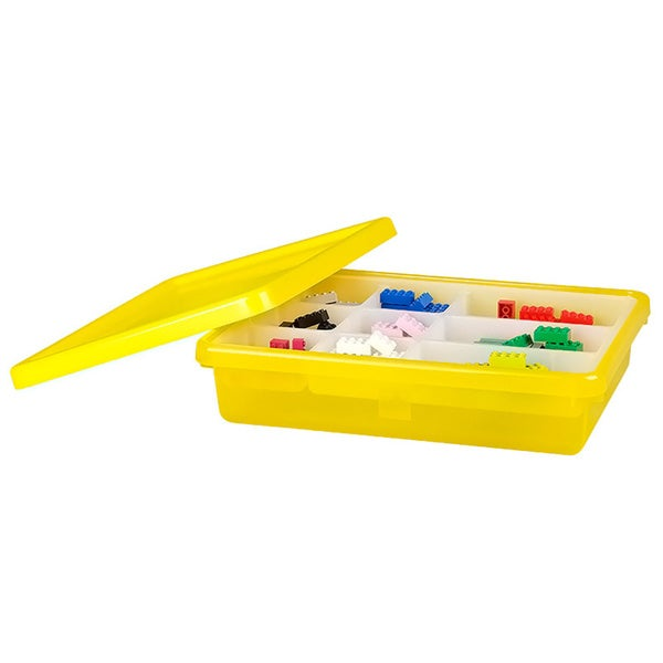 LEGO Yellow Small Storage Box with Lid