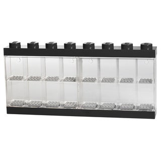 LEGO Black Minifigure Display Case