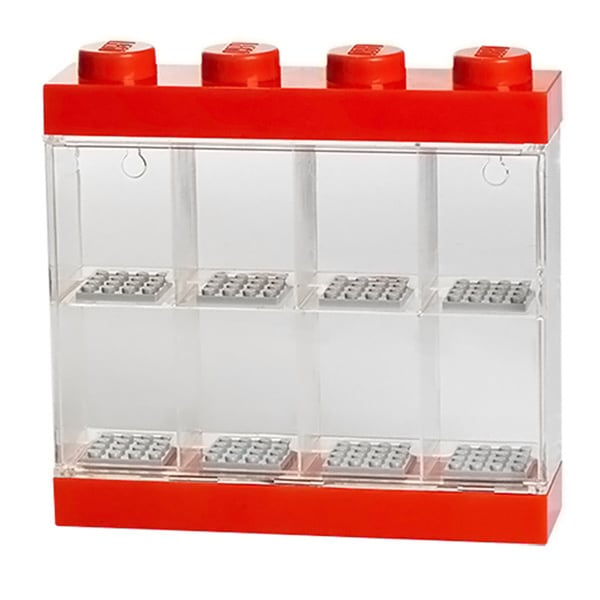 LEGO Bright Red Minifigure Display Case 8 16595449