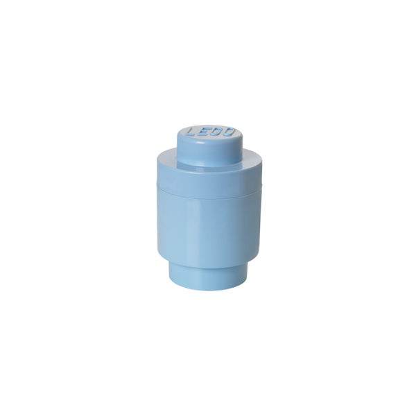 LEGO Light Blue Round Storage Brick 1