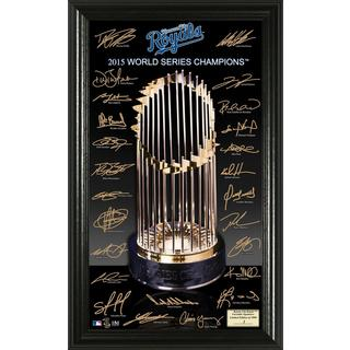 "Kansas City Royals 2015 World Series Champions ""Trophy"" Signature"