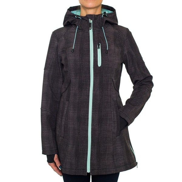 Halifax Softshell with Contrasting Zippers
