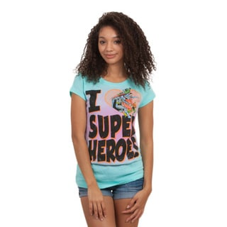 Junior DC Comics I Heart Super Hero T-shirt