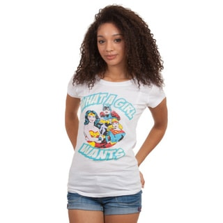 Junior DC Comics What a Girls Wants T-shirt