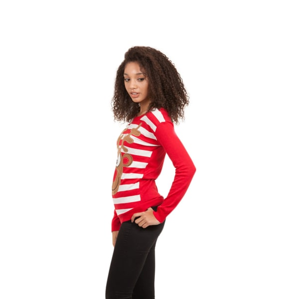 Junior Xmas Reindeer Sweater