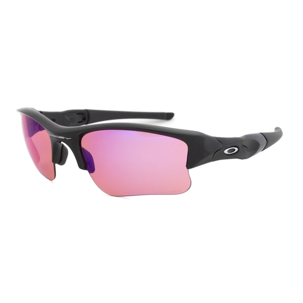 Oakley OO9009-08 Flak Jacket XLJ Black Trail Sunglasses