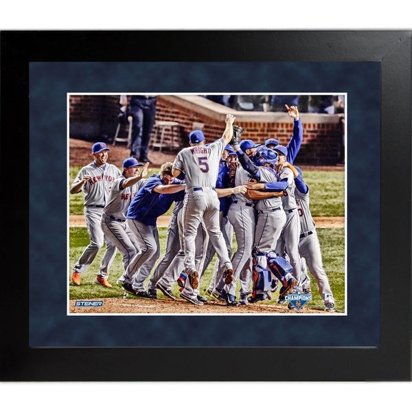 New York Mets 2015 National League Champions Celebration 16x20 Framed Photo
