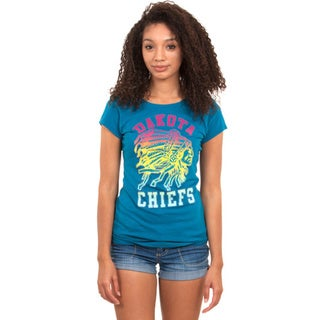 Junior Hand-appliqued Crew Neck Dakota Chiefs T-shirt