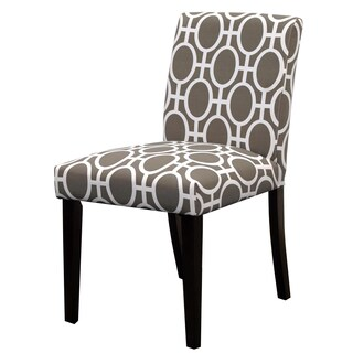 Skyline Furniture Uptown Dining Chair in Trellis Brindle