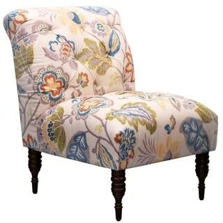 Skyline Furniture Tufted Chair in Kazoo Amber