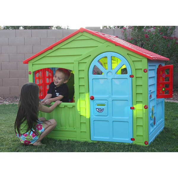 Pal Play Outdoor and Indoor Funhouse