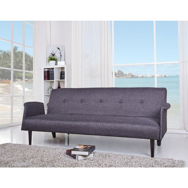 Westminster Dark Gray Convertible Sofa Bed