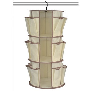As Seen On TV 3-tier Spinning Closet and Shoe Organizer