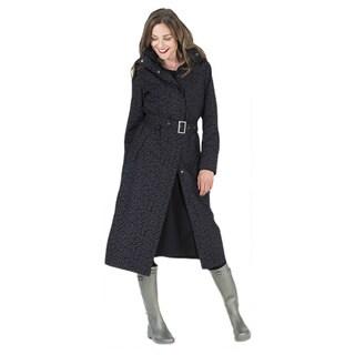 Happy Rainy Days Women's Long Jacket
